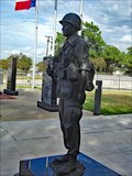 Image for Memorial Day tribute, Garcia honored with bronze statue at Navarro County Courthouse  - Corsicana, TX