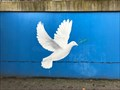 Image for Friedenstaube am Bahnhof Hochdahl, NRW, Germany (Dove of Peace)