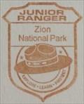 Image for Zion National Park Junior Ranger - Springdale, UT