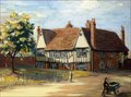 "Image for ""The Biggins Almshouses Hitchin"" by Phyllis Morgans – Biggins Almshouses, Biggins Lane, Hitchin Herts, UK"