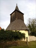 Image for Wooden bell tower at the church of st. George, Czechia
