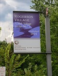 Image for Rogerson Village A Mill Village - Uxbridge MA