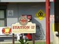 Image for Fire Station # 17 Safe Haven Sign - Doctor's Inlet, Florida