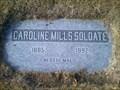 Image for 106 - Caroline Mills Soldate - Alturas Cemetery - Alturas, CA