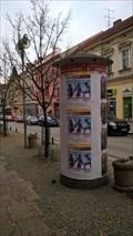 Image for Advertising column ulice 9.kvetna, Tábor, Czech Republic
