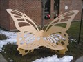 Image for Butterfly Bench - Fraser Public Library - Fraser, MI.
