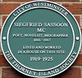 Image for Siegfried Sassoon - Tufton Street, London, UK