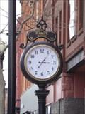 Image for Robinette Jewelers Clock - Seneca Falls, NY