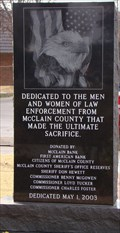 Image for McClain County Law Enforcement Memorial - Purcell, OK