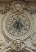 Image for Clock at the City Hall Mulhouse - Alsace / France