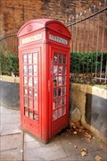 Image for Red Telephone Box - St Giles High Street, London, UK