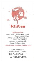 Image for Ichiban Asian Fusion - Mineral Wells, TX