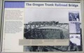 Image for The Oregon Trunk Railroad Bridge