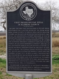 First Producing Gas Well in Kleberg County - Texas