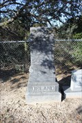 Image for Ira Deland -- Calf Creek Cemetery, McCulloch Co. TX
