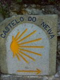 Image for Guilheta Way Marker - Castelo do Neiva, Portugal