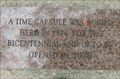Image for Bicentennial Time Capsule - Pittsfield, IL