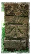 Image for Cut Bench Mark - St Mary's Church,  Eastwell, Kent.
