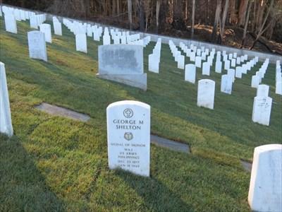 George Matthew Shelton, Sr Stone Setting, San Francisco National Cemetery
