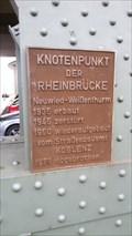 Image for Knotenpunkt der Rheinbrücke - 1935 - 1978 - Neuwied - RLP - Germany