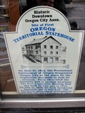 Image for Site of FIRST - Territorial Statehouse of Oregon Territory - Oregon City, Oregon