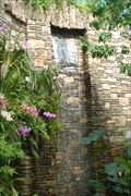 Image for Daniel Stowe Botanical Garden Orchid House Waterfall - Belmont North Carolina