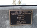 Image for Kyle Solt, Troop 310 -  Flag Retirement Ceremonial Pit -  Fair Oaks CA