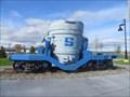 Image for Ladle Train Car - Sydney, Nova Scotia