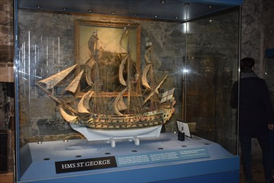 05 - History Museum (no photos of Crown Jewels allowed, so here is the ship)