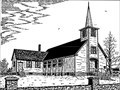 Image for Keir Memorial Presbyterian Church  by Sterling Stratton  - Malpeque, PEI