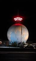 Image for Kæmpe globus. Huge globe.