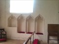 Image for Piscina and Sedilia, St Mary - Old Newton, Suffolk