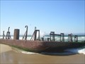 Image for Salinas River Dredging Barge - Monterey, California