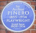 Image for Sir Arthur Pinero - Devonshire Street, London, UK