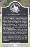 Image for Great Western Cattle Trail