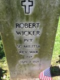 Image for PVT. Robert Wicker - Jackson, MO.