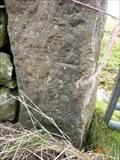 Image for Llangwyllog, Gatepost on B5111