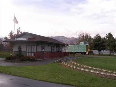 The miniature train museum.