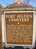 Image for Fort Selden Cemetery