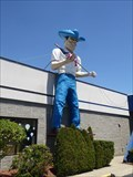 Image for Cowboy Muffler Man: Big Bob - Sunday Strip - Norwich, CT