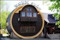 Image for Giant Barrel Restaurant in Libverda Spa / Restaurace Obrí sud v Libverde (Czech Republic)