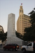 Image for Alamo Cenotaph -- Texas Revolution -- Alamo Plaza, San Antonio TX USA