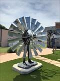 Image for Pioneer with Windmill Blade - Waukomis, OK