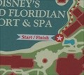 Image for Running Trail Map (Grand Floridian) - Lake Buena Vista, FL, USA