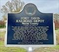 Image for Fort Davis Railroad Depot - Fort Davis, AL