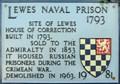 Image for Lewes Naval Prison - Lancaster Street, Lewes, UK