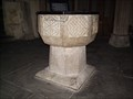Image for The Font of St Martin's Church Lewannick, Cornwall, UK