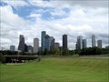 Image for Downtown from Houston Police Officers Memorial - Houston, TX