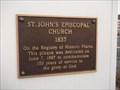 Image for Saint John's Episcopal Church - Crawfordsville, IN