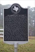 Image for El Camino Real de los Tejas -- Original Site of J. R. Rice Cabin, SH 21, Houston Co. TX